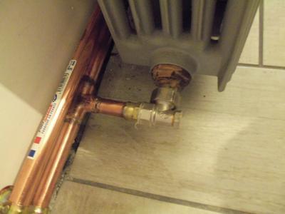 Tube Dalimentation Cuivre Diam20 X 22 Mm En Barre De 5 M