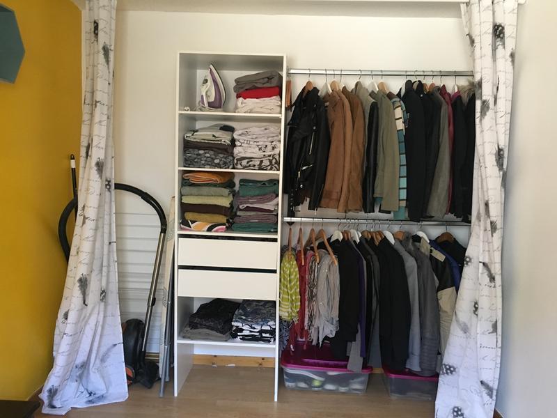 kit dressing blanc smart x x cm leroy merlin. Black Bedroom Furniture Sets. Home Design Ideas