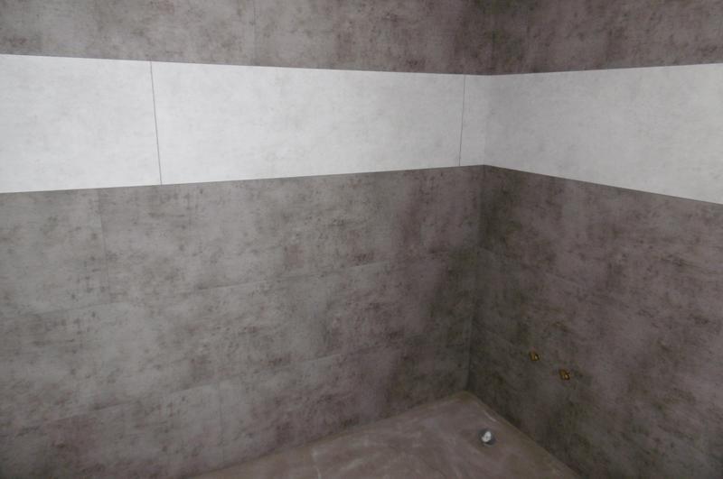 Dalle murale pvc ciment gris dumaplast x cm x ep 5 mm leroy merlin - Remboursement leroy merlin ...