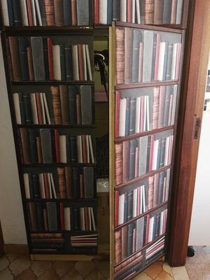 Papier peint intissé Bibliotek multicouleur | Leroy Merlin