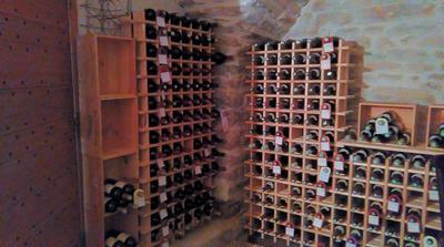 Casier 78 emplacements bois brut leroy merlin - Casier bouteille leroy merlin ...
