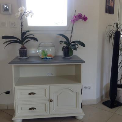 peinture d colab meuble de cuisine 100 r sist v33 gris roche l leroy merlin. Black Bedroom Furniture Sets. Home Design Ideas