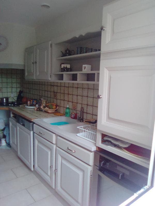 peinture d colab meuble de cuisine 100 r sist v33 beige nature 2 l leroy merlin. Black Bedroom Furniture Sets. Home Design Ideas