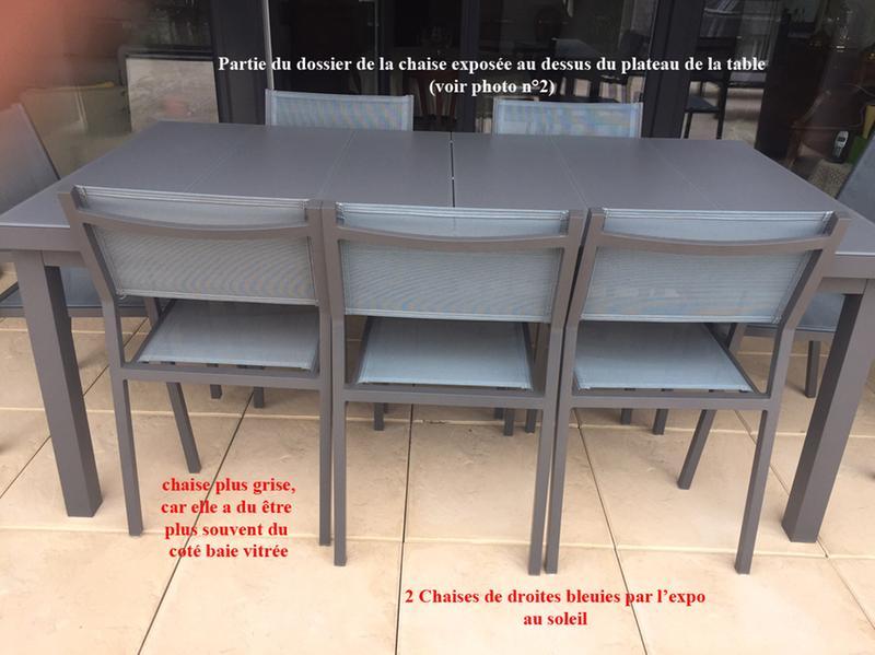 Chaise de jardin en aluminium Niagara gris | Leroy Merlin