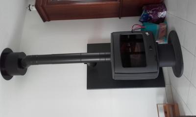 coude pour conduit double paroi poujoulat d230 mm 45 mm leroy merlin. Black Bedroom Furniture Sets. Home Design Ideas