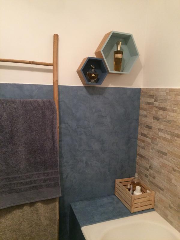 enduit b ton resinence blanc 4 l leroy merlin. Black Bedroom Furniture Sets. Home Design Ideas