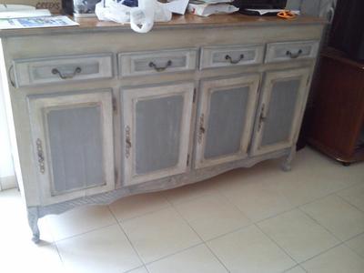 peinture effet essuy liberon chaul gris colombe l leroy merlin. Black Bedroom Furniture Sets. Home Design Ideas