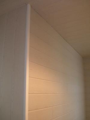 Lambris Mdf Revêtu Frêne Blanc L260 X L15 Cm Ep8 Mm