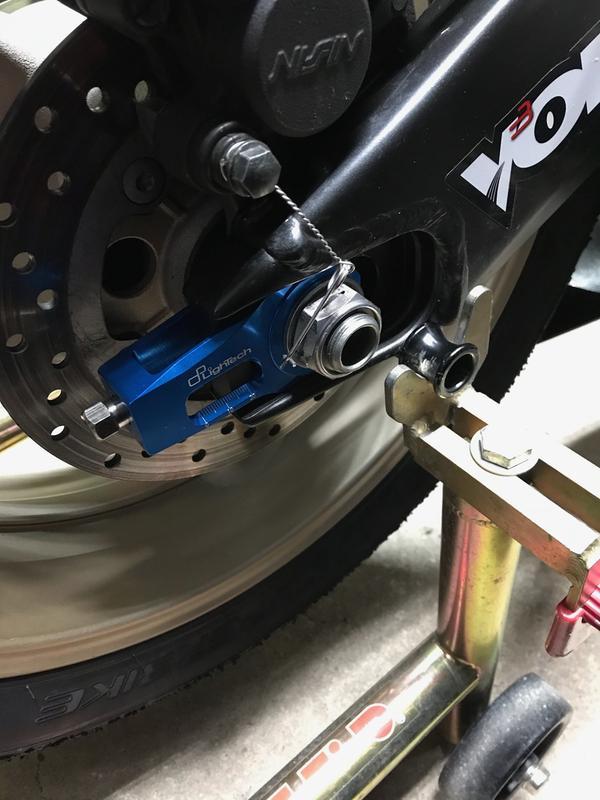 Lightech Chain Adjuster Kit Motosport
