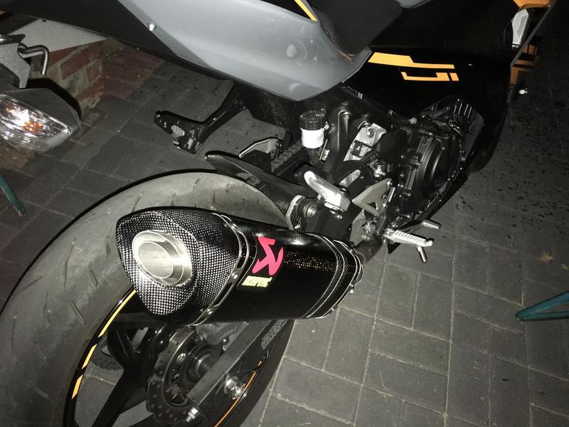 Akrapovic Slip-On Exhaust