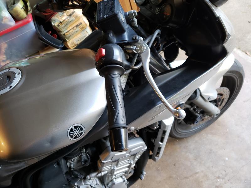 BikeMaster Brake Lever Polished #1354-P Yamaha//Kawasaki