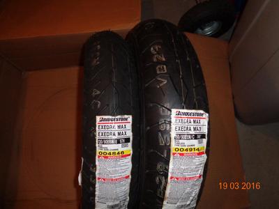 Bridgestone Exedra Max Tire Combo