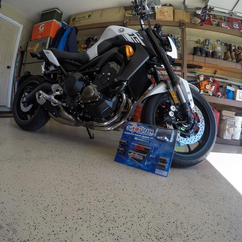 Shogun Motorsports 3 Piece No Cut Slider Kit | MotoSport