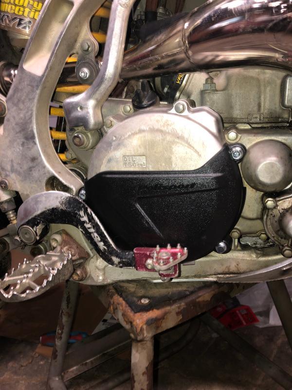 Polisport Clutch Cover Protector Black 8458400001 64-0752B 993557