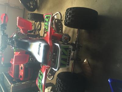 Maxxis RAZR MX Rear Tire