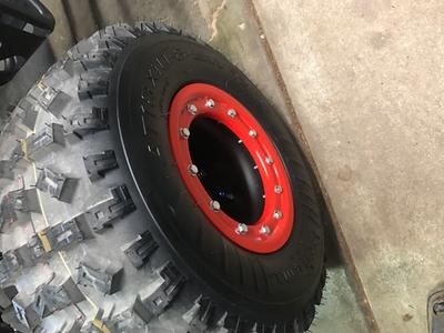 """TRX 450R 400EX 400X 300X   Mud Plug   Beadlock Wheels 8/""""   Alba Racing   8"""