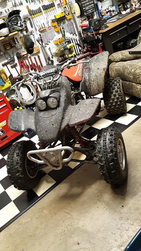 QuadBoss QBT739 Sport Rear Tire