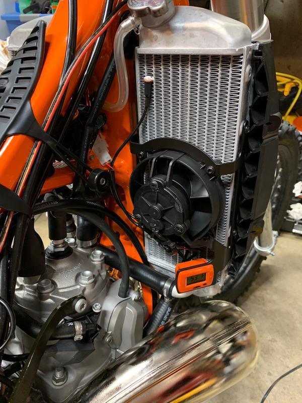 KTM PowerParts Digital Radiator Fan Kit | MotoSport