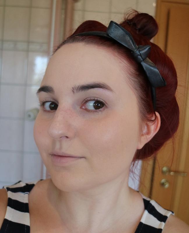 blasse haut make up aussieht
