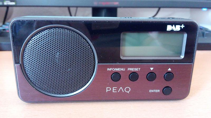 PEAQ PDR050-B Digitalradio