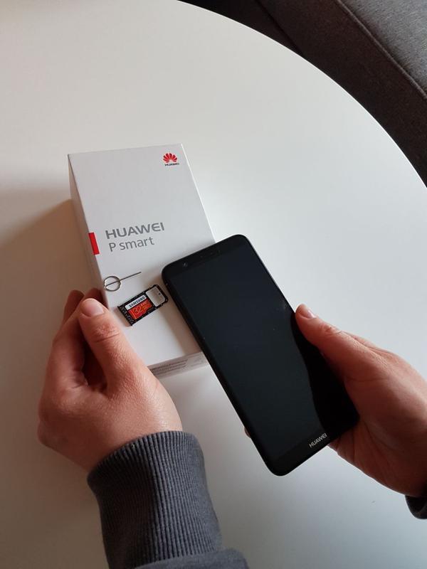 Huawei P Smart Sim Karte.Huawei P Smart Smartphone 32 Gb Blau Dual Sim