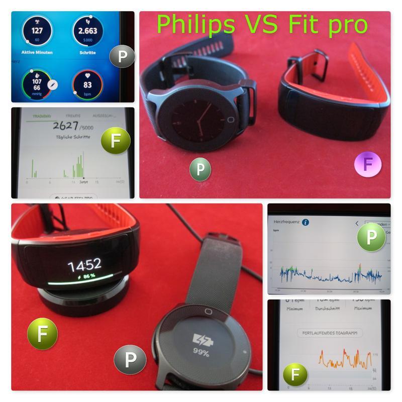 SAMSUNG Gear Fit2 Pro Smartwatch in Rot kaufen   SATURN