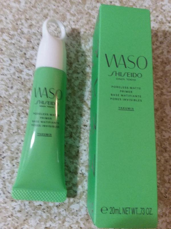 WASO: Poreless Matte Primer by Shiseido #20