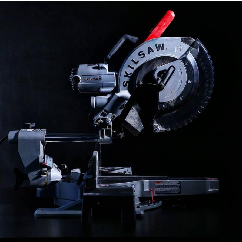 12 In  Worm Drive Dual Bevel Sliding Miter Saw