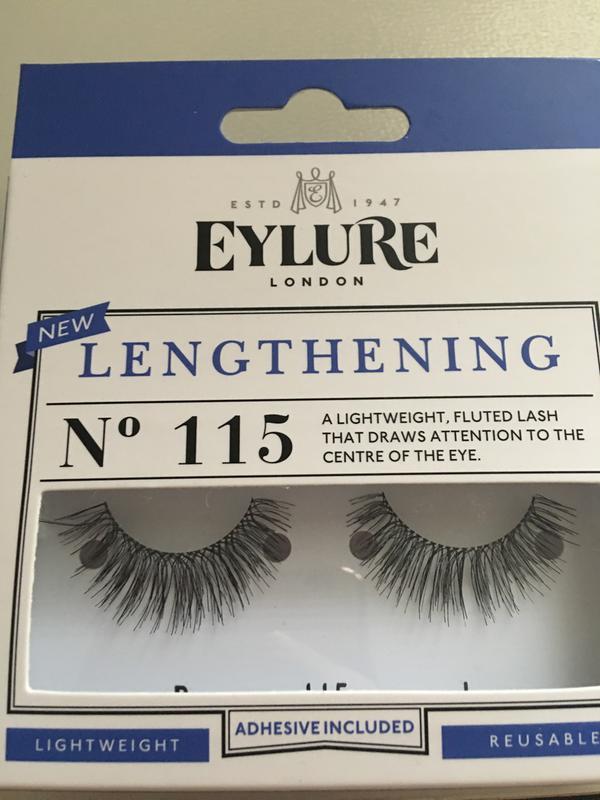 66ab7034e7d Eylure Lengthening False Lashes 115 | Make Up | Superdrug