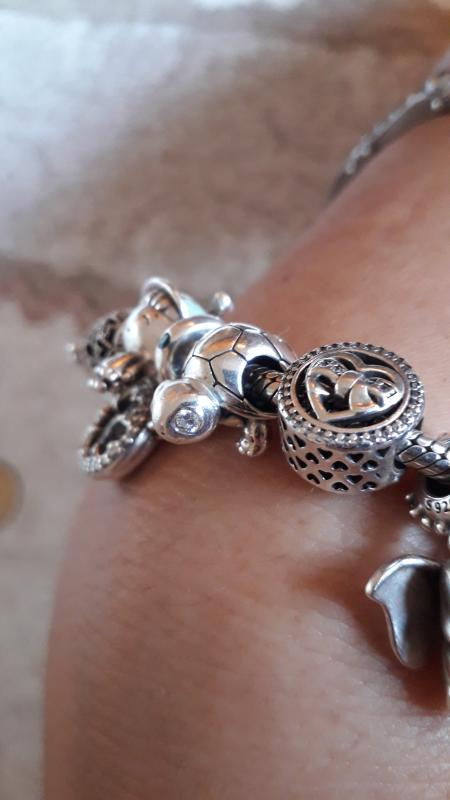 bracciale pandora con tartaruga