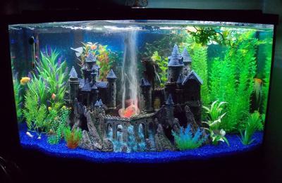 penn plax giant castle aquarium decoration 1000 ideas
