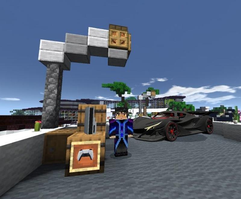 image #0 de Le Jeu cubique Minecraft