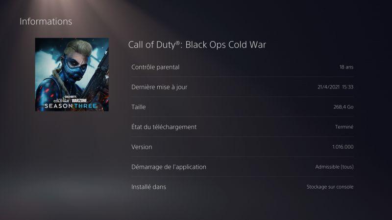 image #0 de Avis - Call of Duty: Black Ops Cold War