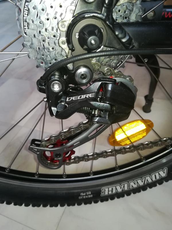 Vélo usure Set Shimano Alivio Acera Deore Chaîne hg53 pignon 9 fois