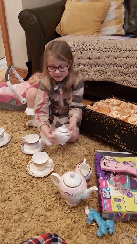 Disney Princess 11 Piece Tea Set