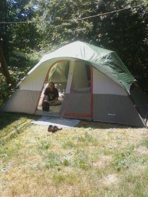 & Ozark Trail 14x8 Eight Person Tent - Walmart.com