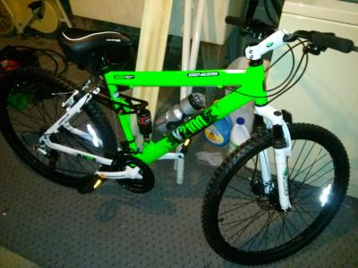 26 Genesis V2100 Men S Mountain Bike With Full Suspension