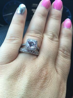 miabella 5 carat tgw cubic zirconia sterling silver halo engagement ring walmartcom - Walmart Jewelry Wedding Rings
