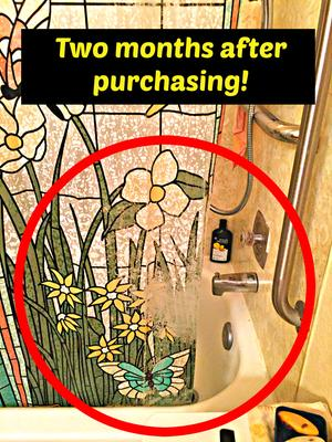 Mainstays Stained Glass Meadow PEVA Shower Curtain - Walmart.com