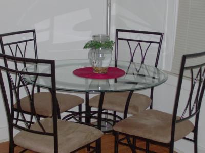 Mainstays 5 Piece Gl Top Metal Dining Set Room Ideas & Mainstays 5-Piece Glass Top Metal Dining Set - Dining room ideas