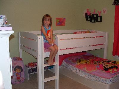 - Canwood Whistler Junior Loft Bed, White - Walmart.com