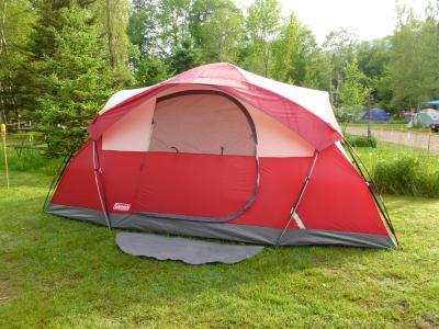 & Coleman Cimmaron 8-Person Modified Dome Tent - Walmart.com