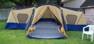 ... Ozark Trail 14 Person 4 Room Base C& Tent Walmart com & 4 Bedroom Tent - Bedroom Ideas