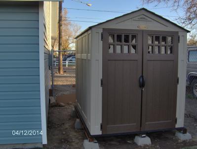 suncast 6 x 8 everett storage shed walmartcom - Garden Sheds 6 X 8