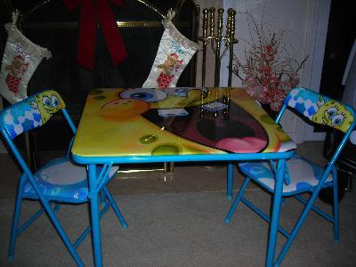 & Nickelodeon Spongebob Activity Table and Chair Set - Walmart.com