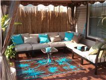 Cute Mainstays Ragan Meadow II Piece Outdoor Sectional Sofa Seats Walmart