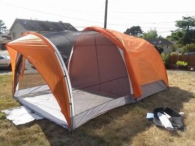 Ozark Trail 8-Person Dome Tunnel Tent with Maximum Weather Protection - Walmart.com & Ozark Trail 8-Person Dome Tunnel Tent with Maximum Weather ...