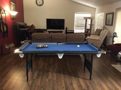 Hathaway Fairmont Portable Pool Table Modern Coffee Tables And - Hathaway fairmont pool table