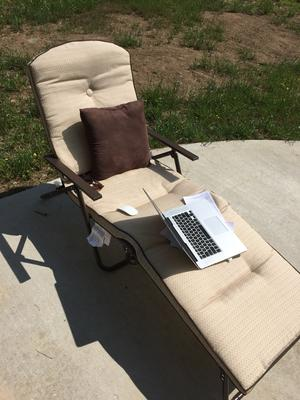 dune outdoor furniture. mainstays sand dune outdoor padded folding chaise lounge tan walmartcom furniture