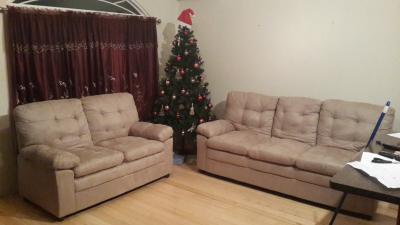 Mainstays Buchannan Microfiber Sofa, Multiple Colors   Walmart.com